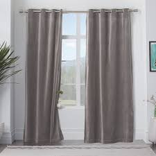 velvet grommet curtain iron west elm