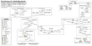 Final Fantasy World Map by Final Fantasy Xii World Map