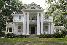 revival homes house plan luxury house plans with front porch columns house