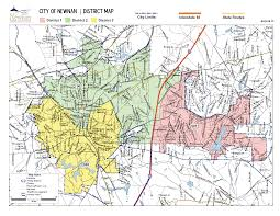 City Of Atlanta Zoning Map by City Council City Of Newnan