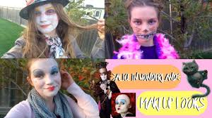 Diy Alice In Wonderland Characters Makeup And Mad Hatter