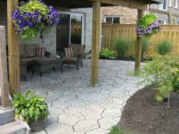 Patio Stones Kitchener Precast Flagstone Patio Under Deck Traditional Deck Toronto
