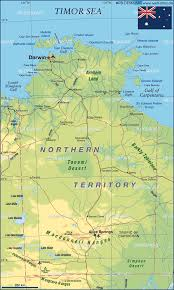 territories of australia map map of northern territory australia map in the atlas of the