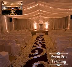 Ceiling Drapes For Wedding This Website Has Training Videos On How To Do Draping For Weddings