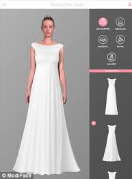 wedding dresses 300 wedding dress studio app allows brides to be to try up to 300