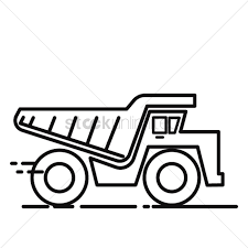 dump truck vector image 2035456 stockunlimited