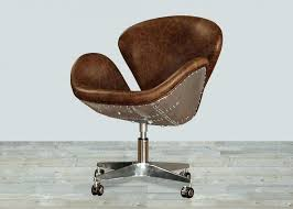 brown leather armless desk chair white leather armless desk chair desk leather office chair desk