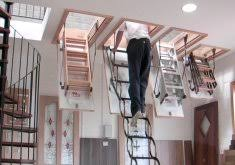 fold up stairs to attic foldable stairs amazing folding attic