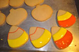 cute candy corn cookie for halloween suz daily
