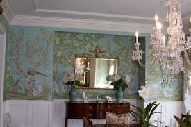 Dining Room Wallpaper by Reusing Gracie Wallpaper The Well Appointed House Blog Living