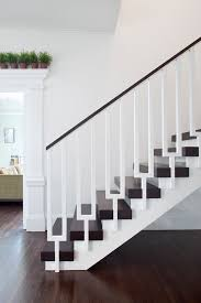 metal landing banister and railing modern stair railing staircase contemporary with exposed beams