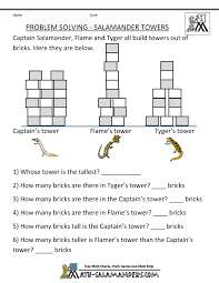 math problem solving worksheets 5th grade what part of a cause