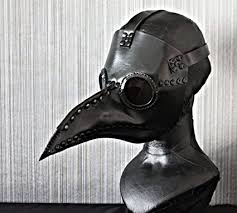 plague doctor mask 1 1 costume bird prop leather dr