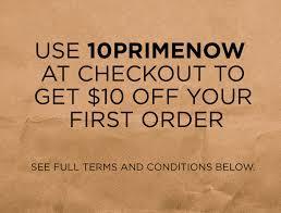 cupom black friday amazon extra 10 off promo code u002710primenow u0027 for first time amazon prime