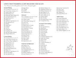 bridal registry checklist printable fresh bed bath and beyond registry checklist gallery of wedding