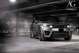 range rover svr white ag luxury wheels range rover sport svr forged wheels