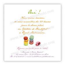 invitation anniversaire mariage invitation mariage macarons faire part mariage macarons