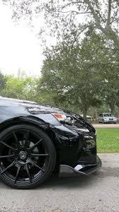 lexus is xe30 op style carbon fiber front lip for 2014 2016 lexus is 250 300 350
