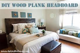 Cool Wood Headboards by Remarkable Wood Plank Headboard Headboard Ikea Action Copy Com
