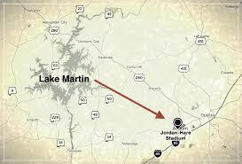 do people stay at lake martin for auburn games u2013 lake martin