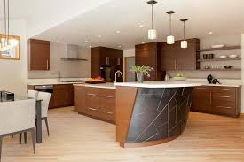 curved kitchen islands 20 modern kitchens with curved kitchen islands
