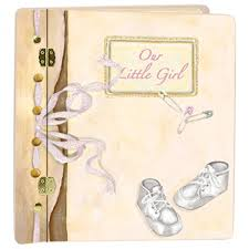baby girl memory book journal book baby large album