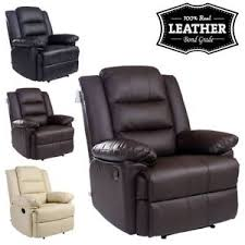 Ebay Armchair Loxley Leather Recliner Armchair Sofa Home Lounge Chair Reclining