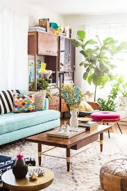 Boho Living Room Decor Remarkable Boho Living Room Ideas Chic Decorating Blue Stripes