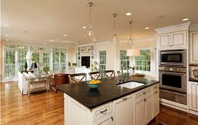 open concept kitchen ideas warm up the house with these 15