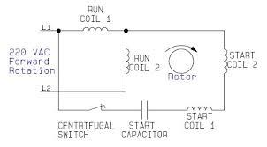 single phase motor wiring diagram