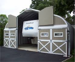 motorhome garages metal rv garages prefab steel motorhome garage kits