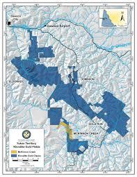 Yukon River Map Mckinnon Creek Placer Mine U203a Klondike Gold Corp U2039 Canadian Gold