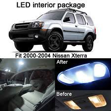 2004 Nissan Xterra Interior 10 Pcs T10 License Plate Lights Interior Package Kit For Nissan