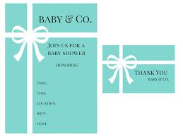baby and co baby shower baby shower invitations thank you card baby and