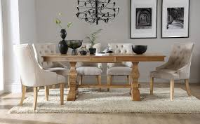 Oak Dining Table  Chairs Oak Dining Sets Furniture Choice - Dining room chairs oak