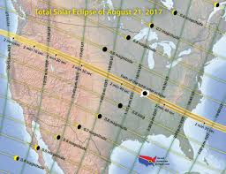 solar eclipse 2017 traffic and weather forecasts for states in