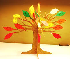 thanksgiving decorating ideas for with mini artificial tree