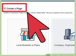 How To Create A Facebook Fan Page 9 Steps With Pictures