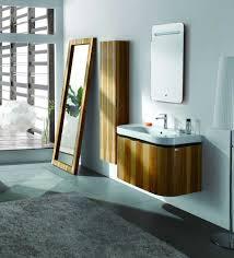 modern bathroom with wood floor home interior design ideas