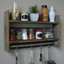 Wooden Wall Mount Spice Rack French Rustic Spice Rack Ideas Design Ideas And Decor