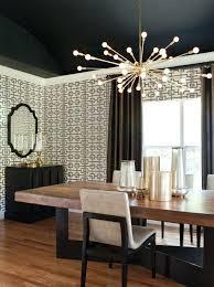 stunning lighting in dining room contemporary home design ideas
