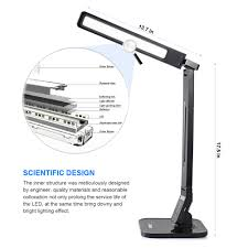 Home Design By Engineer by Ledgle Lg Dl01 Led Foldable Desk Lamp Touch Control Table Lamps