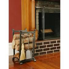 indoor outdoor firewood racks fireplaces the home depot