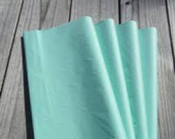 mint green tissue paper tissue paper etsy