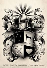 family crest images designs