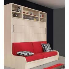 lit escamotable canapé armoire lit transversal autoporteur canapé é achat vente lit