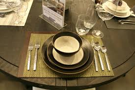 How To Dress A Delectable Dining Table  Try Small Things - Dining room table placemats