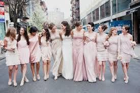 10 weddings that prove mismatched bridesmaids dresses rule brit co