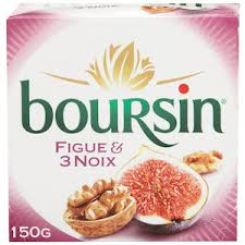 boursin cuisine boursin nut fig cheese spead cheese fresh spread fresh