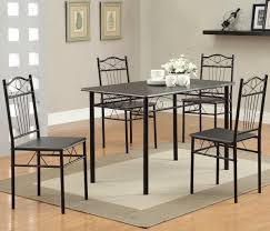 awesome metal dining table for fancy dining space setups ruchi